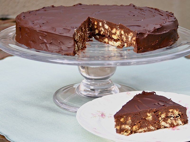 Royal Chocolate Biscuit Cake - A Well Seasoned Kitchen