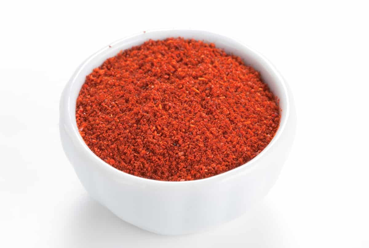 white bowl of Mexican Seasoning