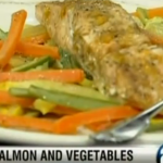 Salmon and Vegetables en Papillote