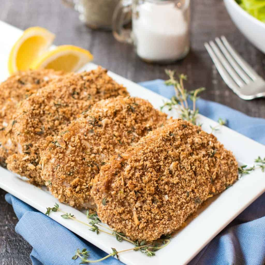 Healthy Breaded Pork Chops - Easy Weeknight Dinner