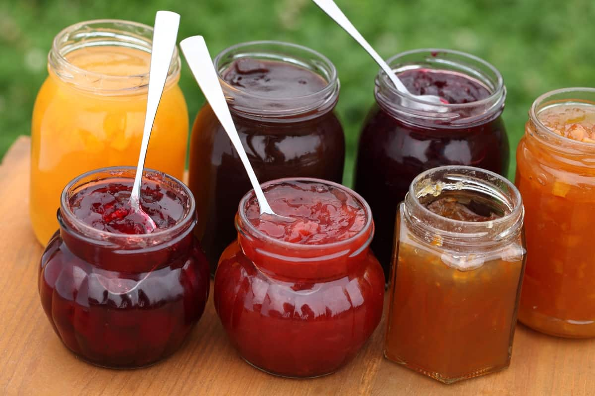 Jam jelly preserves marmalade what s the difference for Pectine cuisine