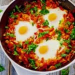 poached-eggs-italian-tomato-sauce-recipe