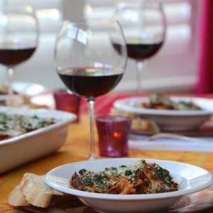 Spinach-Farfalle-Bolognese-recipe