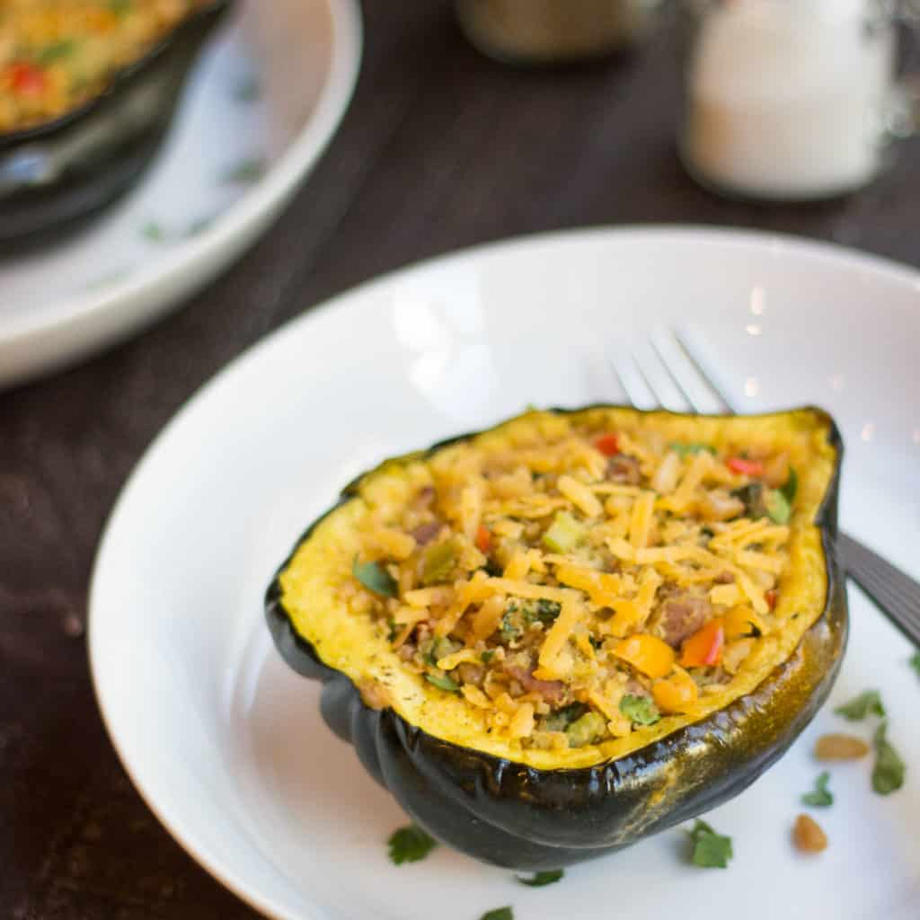 stuffed-acorn-squash-with chicken-sausage-recipe